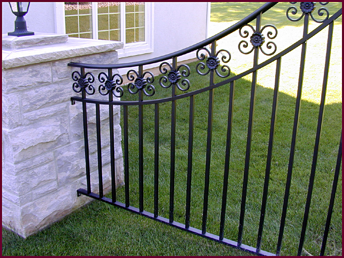 decorative aluminum fencing. Aluminum Fence Systems  Clem s Ornamental Iron Works Inc Piscataway New Jersey ProView